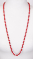 Coral Pearls 75 cm round 6 mm